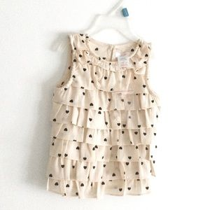 NWT Toddler Pattern Hearts Size 1 year